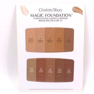 Magic Foundation Shade Sample Card Medium - Dark
